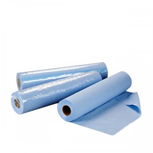 Ролка еднократни чаршафи TNT - синя 60 см или 70 см