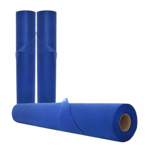 Еднократни чаршафи, сини, 68 см. - Модел SB137