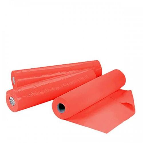 Ролка еднократни чаршафи TNT - червена 60см или 70см