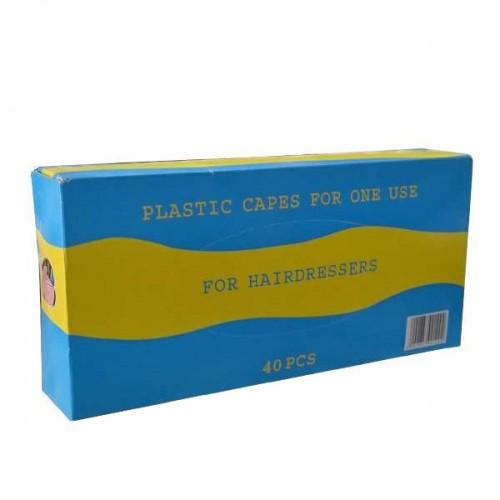 Еднократни пелерини за боя, ролка BC-026 (40бр. кутия)