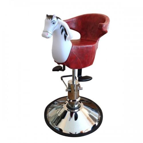Детски фризьорски стол с формата на конче – модел CO78B