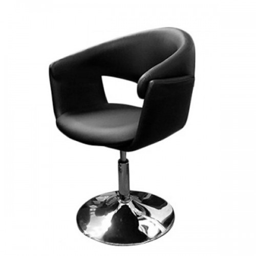 Фризьорски стол с овална облегалка - Модел 3756