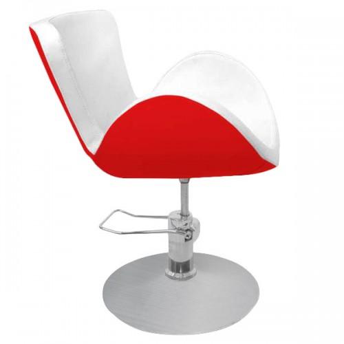 Фризьорски стол в два цвята - PA03F0RW