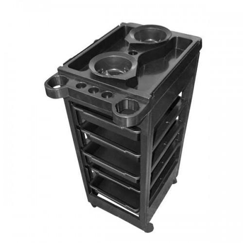 Фризьорска количка с 5 чекмеджета - Модел А108