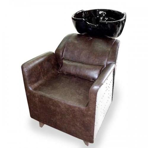 Фризьорски комплект с измивна колона и фризьорски стол AVIATOR I