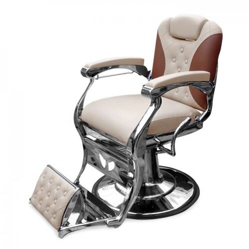 Бръснарски стол в два цвята IM243