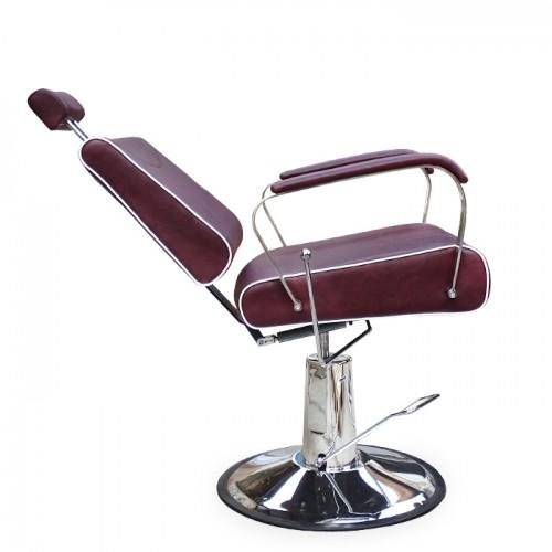 Кожен бръснарски стол модел N220