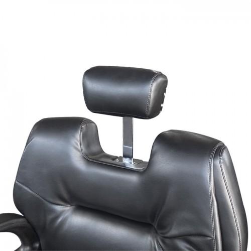 Черен бръснарски стол А12