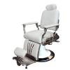 Стилен бръснарски стол в бял цвят - Модел SA26