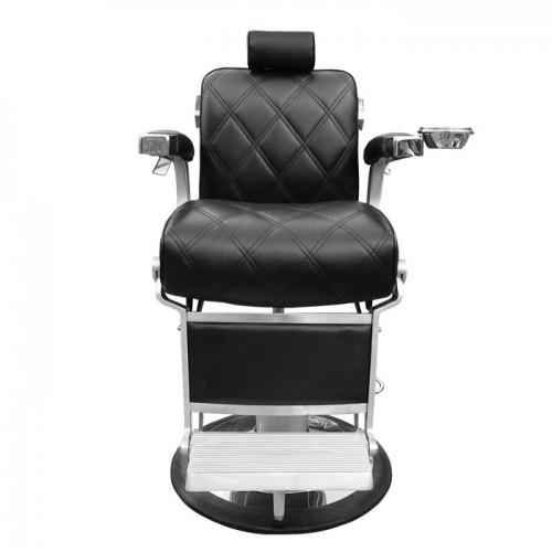 Бръснарски стол в черно IM231