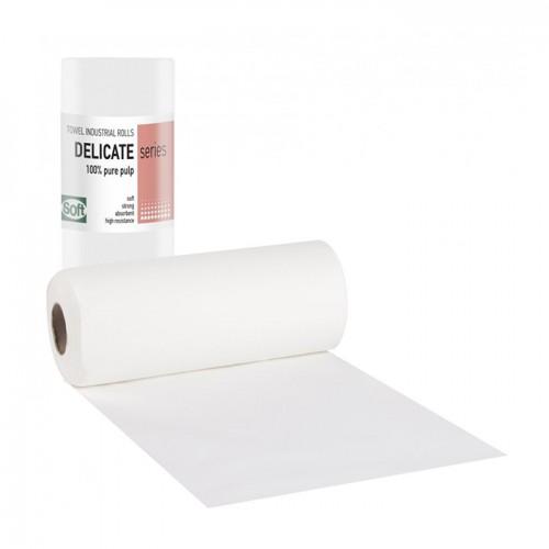Хартиени кърпи на ролка Softcare, двупластови