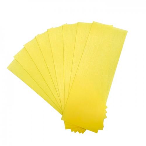 Жълти ленти за кола маска Debyline 50 броя