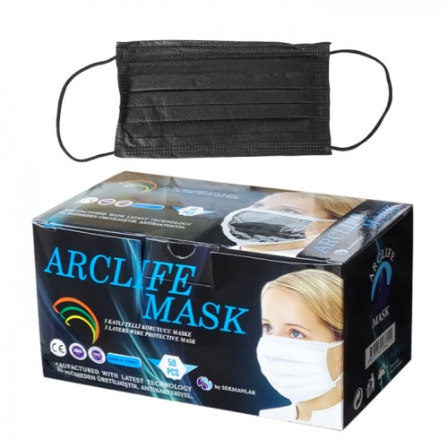 Медицински маски за еднократна употреба Arclife mask - 50 бр.