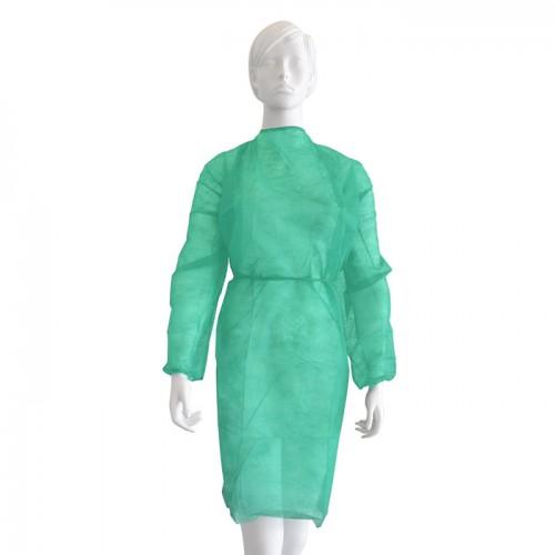 Медицинска престилка от нетъкан текстил Softcare, Унисекс, Зелен