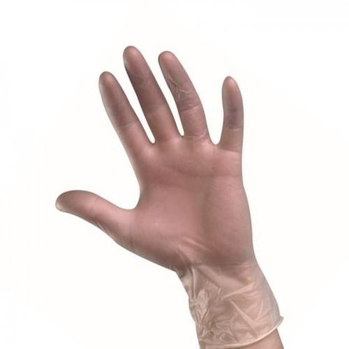 Еднократни ръкавици от винил Mercator, Прозрачни - 100 бр.