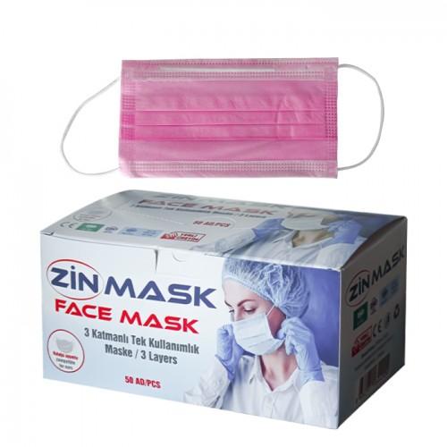 Медицински маски за еднократна употреба Zin mask - 50 бр.
