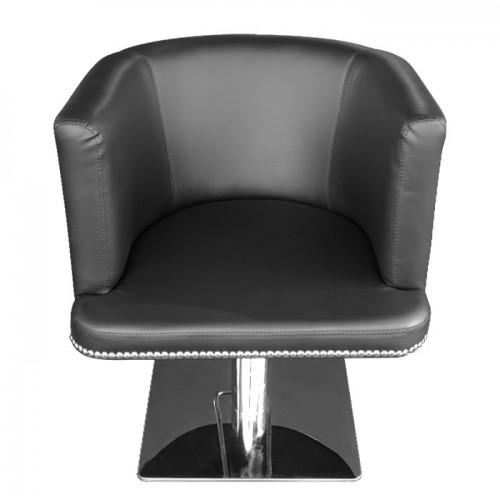 Фризьорски стол с капси M720, черен