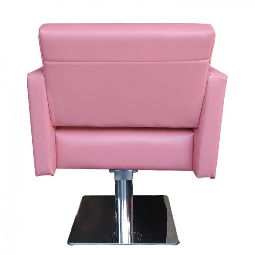 Стилен фризьорски стол М788, Розов