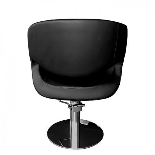 Фризьорски стол 051 в черен цвят