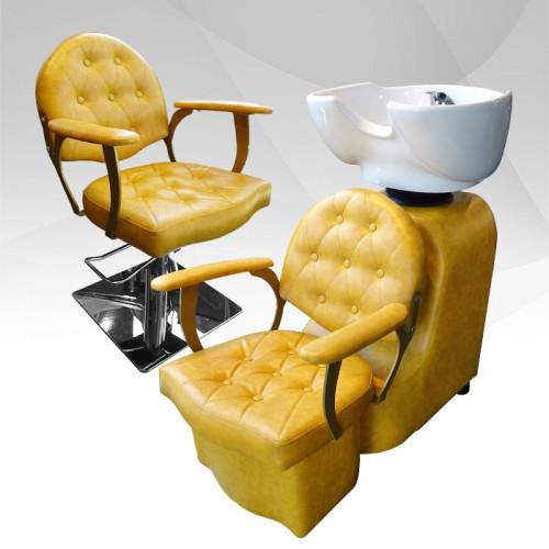 Професионален фризьорски стол модел А306