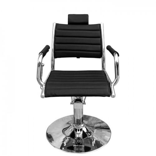 Класически фризьорски стол в черно IM205