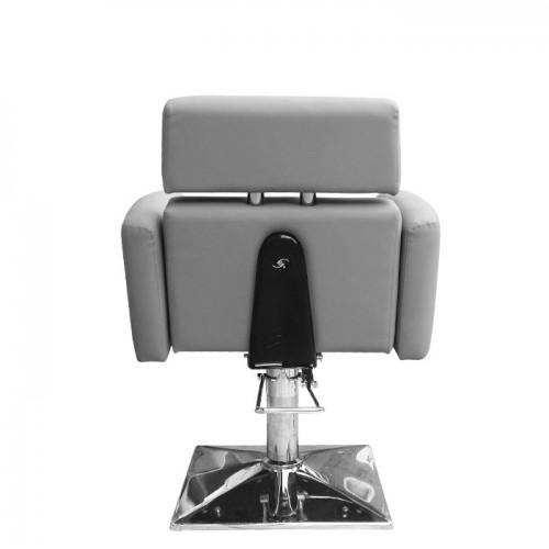 Стилен фризьорски стол в сив цвят IM215
