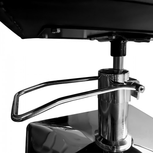 Черен фризьорски стол модел NRP620