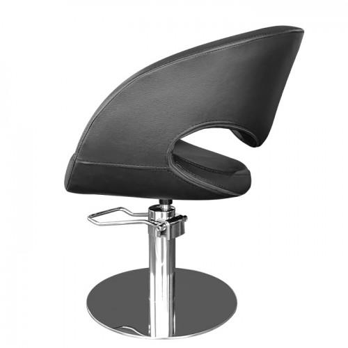 Фризьорски стол T53 в черен цвят