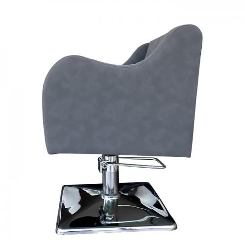 Сив фризьорски стол модел А5000