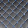 Измивна колона в черно с ромбоидни сини шевове M402