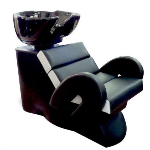 Измивна колона с елегантен дизайн - FO22, черно-бяла