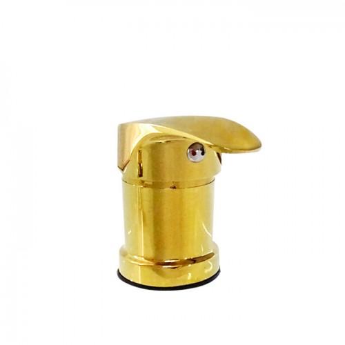 Златист смесител за фризьорска мивка модел F817