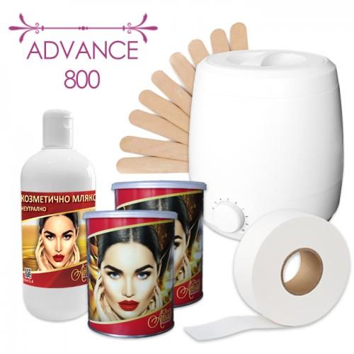 Комплект за процедури с кола маска в кутия – Advance 800