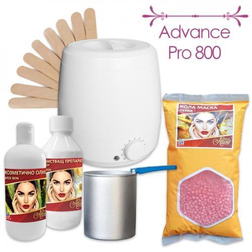 Комплект за епилация с кола маска на перли Advance Pro 800