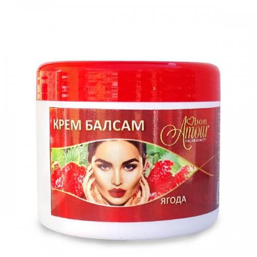Крем-Балсам за намаляване растежа на косъма след епилация с аромат на ягода, 500мл
