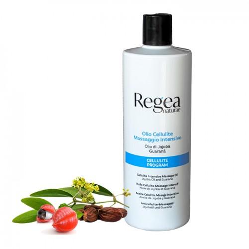 Масажно масло за терапия на целулит с жожоба и гуарана Regea