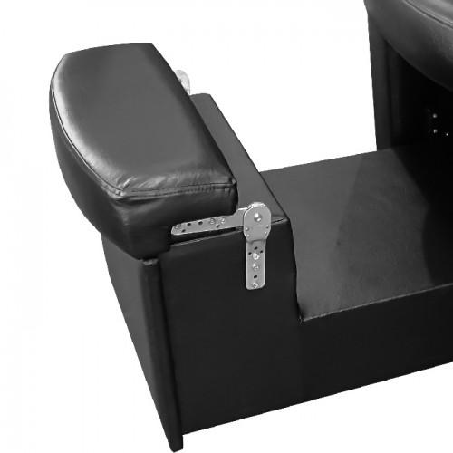 Професионален стол за педикюр модел В9091 в черен цвят