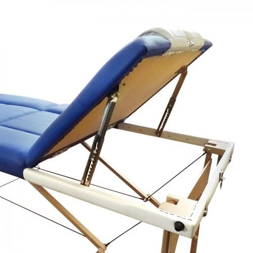 Трисекторна масажна кушетка с повдигане W3041