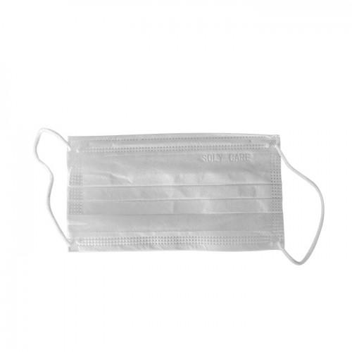 Качествена трислойна маска за лице Soly Care – 50 броя