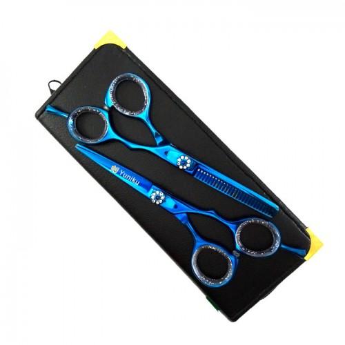 Yuniku фризьорски комплект ножици модел DS3