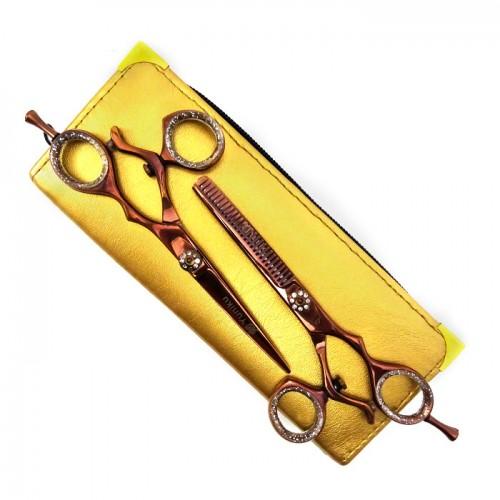 Фризьорски комплект ножици Yuniku модел DS8