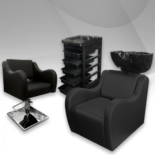 Фризьорски комплект Leather