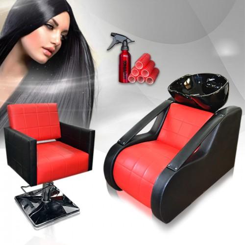 Професионален фризьорски пакет – Red & Black