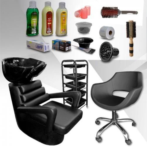 Фризьорско оборудване с подарък над 10 аксесоара Style Essentials