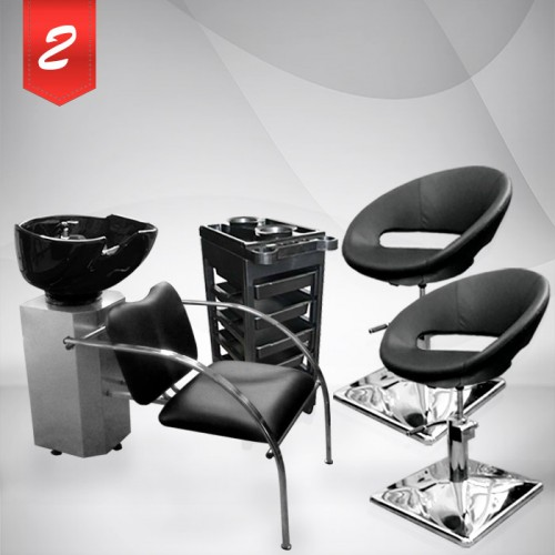 Комплект фризьорско оборудване Silver