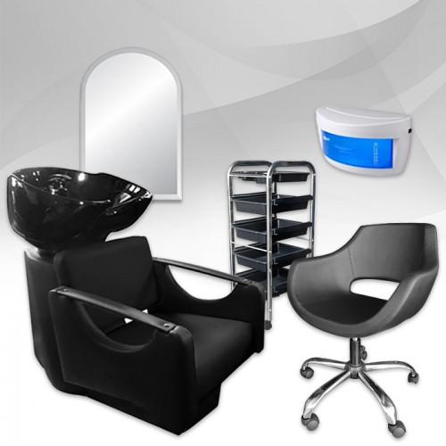 Професионален комплект с фризьорско оборудване EXTRA
