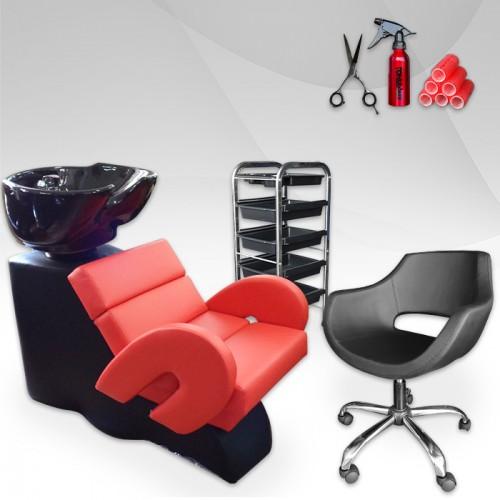 Комплект с фризьорско оборудване – Luxe