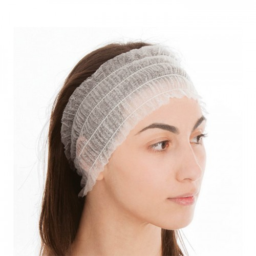 Еднократни ленти за коса от нетъкан текстил Xanitalia Premium - 100 бр.
