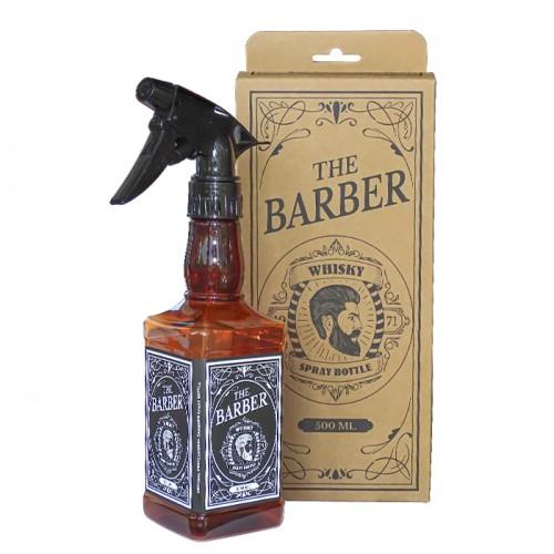 Спрей бутилка за фризьорски или бръснарски салон Whisky