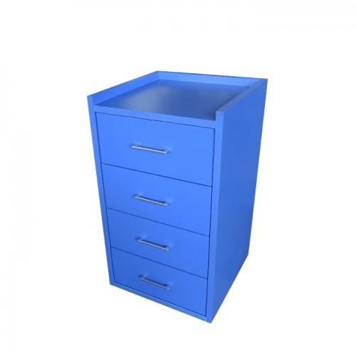 Фризьорски шкаф органайзер модел 404